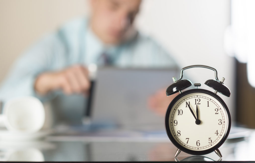 Administre o seu tempo